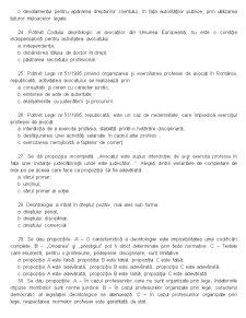 Deontologia si Statutul Functionarului Public - Grile - Pagina 4