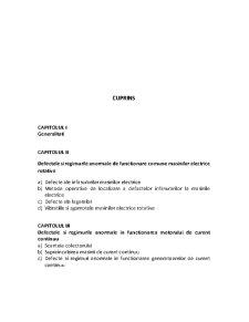 Defecte si Regimuri Anormale ale Masinilor si Aparatelor Electrice - Pagina 3