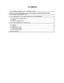 Culturi Energetice - Pagina 1