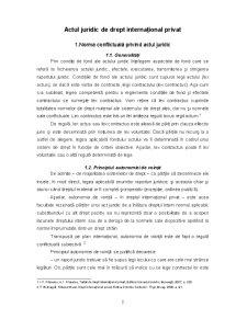 Actul Juridic de Drept Internațional Privat - Pagina 2