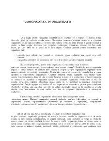 Comunicarea in Organizatii - Studiu de Caz - BRD - Pagina 1