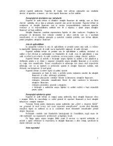 Concluzii de Audit și Raportarea - Pagina 4