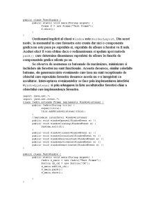 Ferestre în Java - Pagina 3