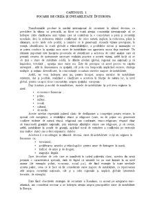 Crize și Instabilitate în Europa - Pagina 3