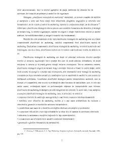 Importanta si Rolul Planificarii in Marketingul Financiar-Bancar - Pagina 2
