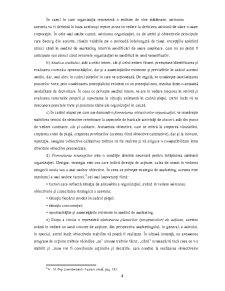 Importanta si Rolul Planificarii in Marketingul Financiar-Bancar - Pagina 4