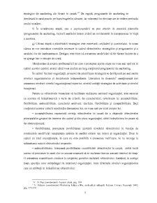 Importanta si Rolul Planificarii in Marketingul Financiar-Bancar - Pagina 5