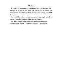 Retele Locale si Conectarea prin Satelit - Pagina 1