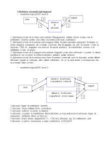 Programarea Sistemelor Informatice - Baze de Date - Restaurant - Pagina 4