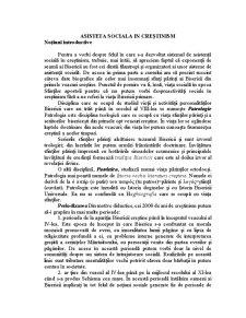 Asistență Socială în Creștinism - Pagina 1