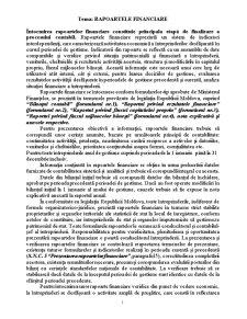 Rapoartele Financiare - Pagina 1