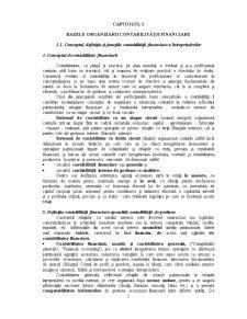 Bazele Contabilitatii Economico-Financiare - Pagina 1