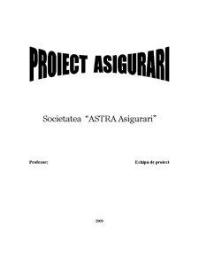 Asigurari - Firma Astra Asigurari - Pagina 1