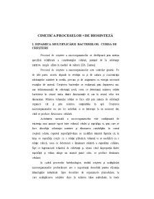 Cinetica Proceselor de Biosinteză - Pagina 1