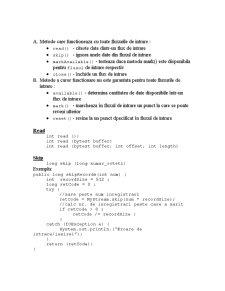 Fluxuri în Java - Pagina 2