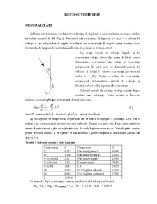 Refractometrie - Pagina 1