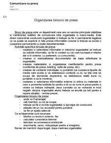 Comunicare cu Presa - Pagina 1