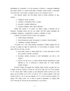 Fondul Monetar International si Relatiile acestuia cu Romania - Pagina 4