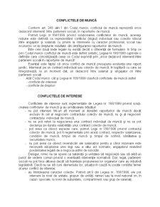 Conflictele de Muncă - Pagina 1
