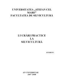 Stabilirea Functiilor Ecologice, Economice si Sociale din Unitatea de Productie I, Ocolul Silvic Iacobeni - Pagina 1