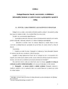 Rating Financiar Bancar - Pagina 1
