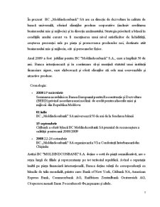 Portofoliul Creditar al Bancii Moldindconbank - Pagina 2