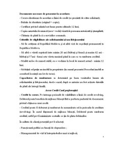 Portofoliul Creditar al Bancii Moldindconbank - Pagina 5
