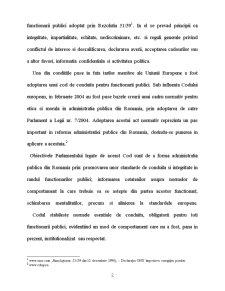 Conduita Functionarului Public - Pagina 2