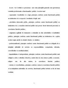 Conduita Functionarului Public - Pagina 5
