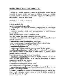 Drept Penal General - Pagina 1
