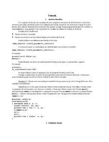 Functii si Variabile in C si C++ - Pagina 1