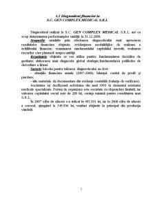 Diagnosticul Financiar la SC Omega SRL - Pagina 3