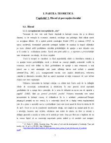 Factori Psihologici care Moderează Optimismul Comparativ în Percepția Riscului de Îmbolnăvire - Pagina 5