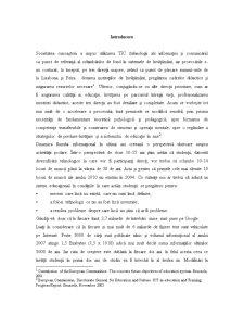 Sistem Informatic pentru E-Learning - Pagina 1