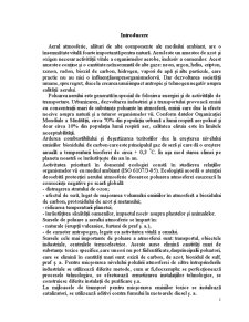 Sursele de Poluare ale Aerului Atmosferic si Componenta de Baza a Poluantilor - Pagina 2