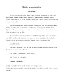 Analiza și Ingineria Valorii - Mobilier pentru Calculator - Pagina 4