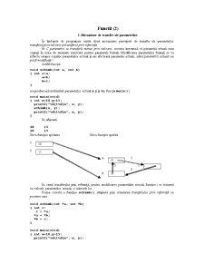 Functii, Tablouri și Pointeri în C și C++ - Pagina 1