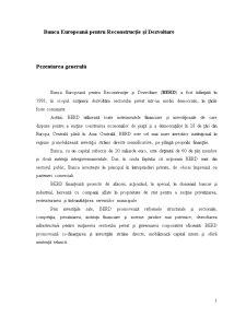 Banca Europeană pentru Reconstrucție și Dezvoltare - Pagina 1