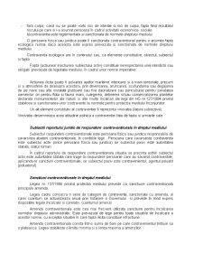 Considerații Privind Răspunderea Juridică Contravențională de Mediu în Dreptul Românesc - Pagina 5