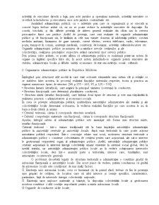 Administratia Publica Centrala - Suport de Curs - Pagina 4