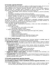 Sisteme de Management Aplicabile in Productia de Alimente - Managementul Sigurantei Alimentului - Pagina 4