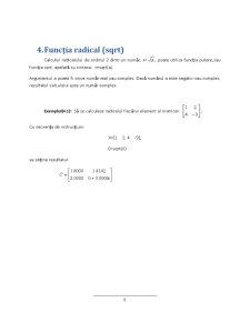 Funcții Matlab - Pagina 5