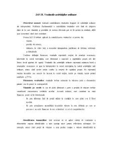 IAS 18 și 36 - Pagina 1