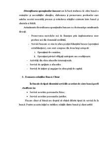 Relatiile Banca-Client - Esenta Operatiunilor Bancare - Pagina 5