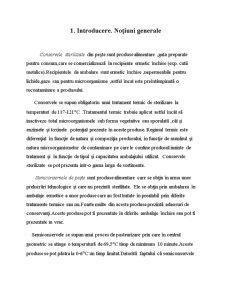Aprecierea Merceologică a Conservelor de Pește - Pagina 3