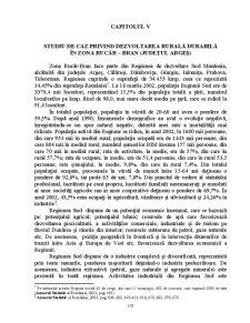 Studiu de Caz Privind Dezvoltarea Rurală Durabilă în Zona Rucăr - Bran - Pagina 1