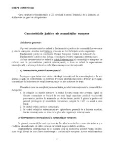 Crearea și Evoluția Comunităților Europene și a Uniunii Europene - Pagina 4
