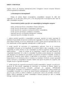 Crearea și Evoluția Comunităților Europene și a Uniunii Europene - Pagina 5