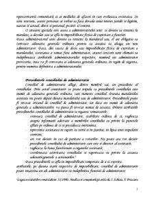 Administrarea Societatii Comerciale pe Actiuni - Sistemul Unitar - Pagina 3