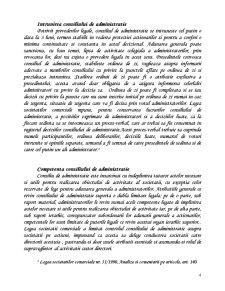 Administrarea Societatii Comerciale pe Actiuni - Sistemul Unitar - Pagina 4